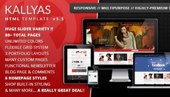 KALLYAS Multipurpose Template