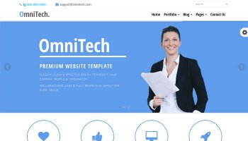 OmniTech - Business Theme