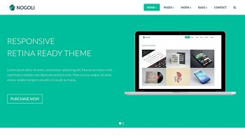Nogoli- Ready Theme Template
