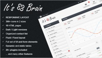 It's Brain - Bootstrap 3 admin template