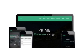 Prime - Simple One Page