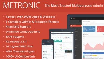Metronic- Admin Template