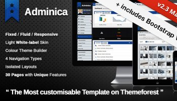 Adminica - Admin Dashboard Template