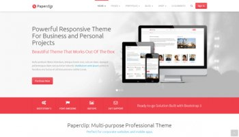 Paperclip - Responsive Professional Theme