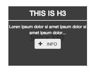 Caption hover effect text