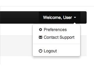 User preferences in Nav Bar