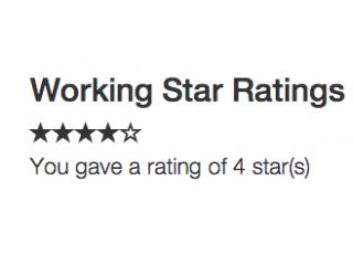 Functional Star Ratings