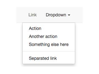 Slide dropdown navigation